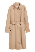 Trenchcoat - Light beige - Ladies | H&M 2